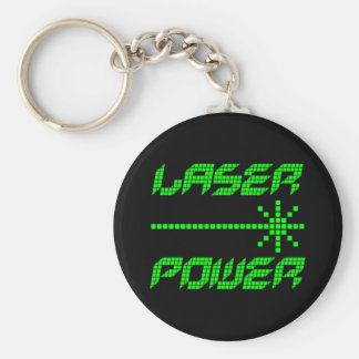 DRIVER den RETRO lasern för COREY-TIGER80-tal Rund Nyckelring