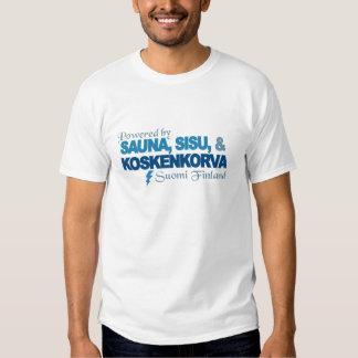 Drivit av bastun, den Sisu & Kossu skjortan - välj T-shirt