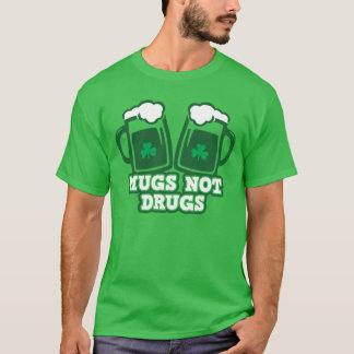 Droger för muggar inte t shirt