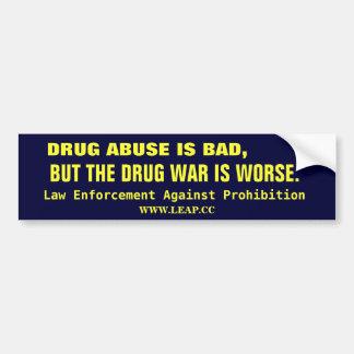 DROGKRIG SOM ÄR LEGALISERAA BILDEKAL
