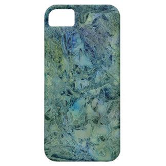 Dröm- Bluegreen abstrakt för åska iPhone 5 Cases
