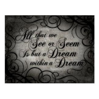 Dröm inom en dröm vykort