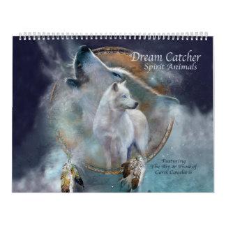 Dröm- kalender för konst för stoppareandedjur