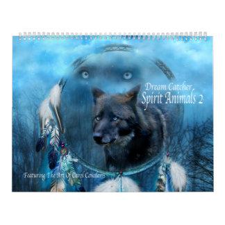 Dröm- kalender för konst för stoppareandedjur 2