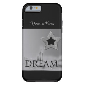 Dröm- New York City personifierar den kända iphone Tough iPhone 6 Case