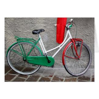 """Dröm-"""" Schwinn """"för italienare cykel Hälsningskort"""