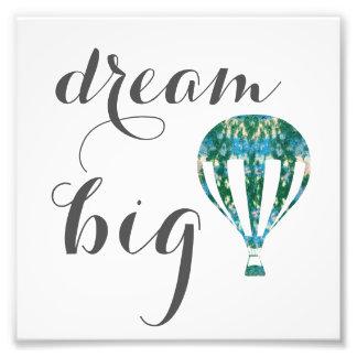 Dröm- stor | luftballongkonst fototryck
