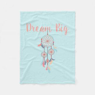 Dröm- stor stoppare för Dreamcatcher bohemdröm Fleecefilt
