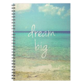 Dröm- stort anteckningsbok