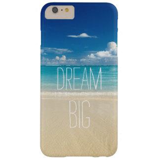 Dröm- stort - inspirera och Motivational Barely There iPhone 6 Plus Skal