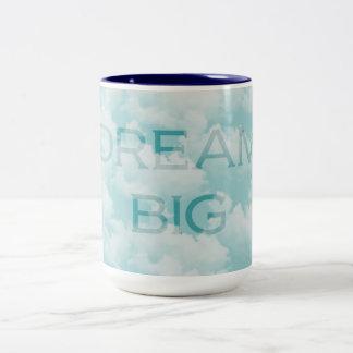 Dröm- stort Två-Tonad mugg