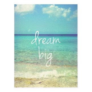 Dröm- stort vykort