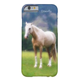 Drömlik mjuk målad Look för Palomino häst Barely There iPhone 6 Skal