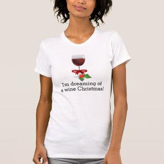 Drömma av design för helgdag för vinjul en rolig tee shirt