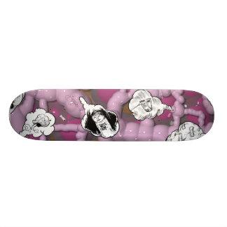 Drömma grafitti skate board