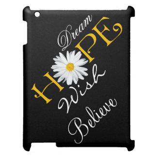 Drömma, hoppas, önska, tro iPadfodral iPad Mobil Fodral