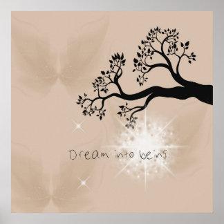 Drömma in i att vara poster