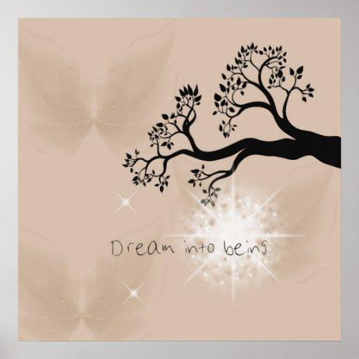 Drömma in i att vara affischer