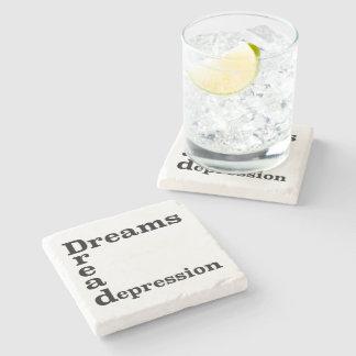 Drömmar bäver fördjupning underlägg sten