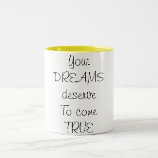 Drömmar Två-Tonad Mugg