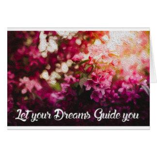 Drömmare Hälsningskort