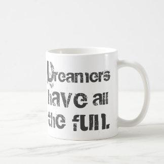 Drömmare har roligt kaffemugg