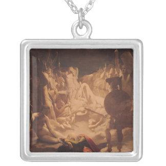 Drömmen av Ossian, 1813 Silverpläterat Halsband