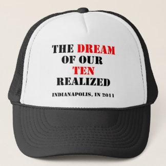 Drömmen av våra realiserade tio truckerkeps