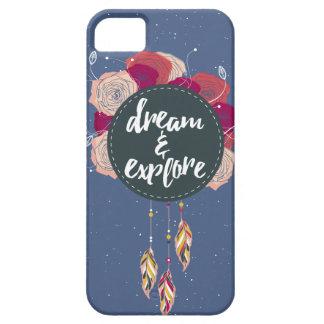 Drömmen & undersöker iPhone 5 fodral