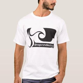 DropInRideShop logotyputslagsplats T Shirts