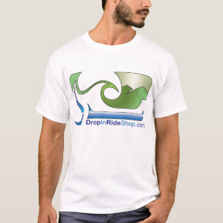 DropInRideShop logotyputslagsplats T-shirts