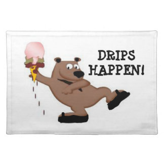 Droppandear händer bordstabletten för bordstablett