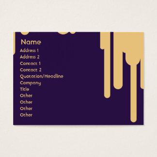 Droppandear - knubbig visitkort
