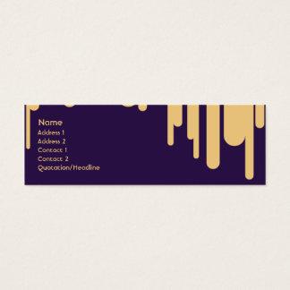 Droppandear - smala litet visitkort