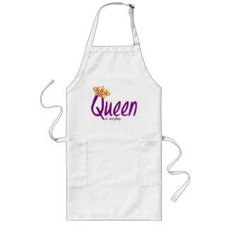 Drottning av allt [förklädet] långt förkläde