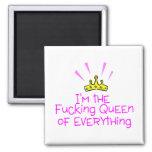 Drottning av allt krona kylskåpsnagnet