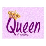 Drottning av allt [vykortet] vykort