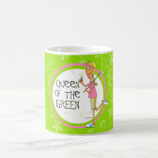 Drottning av grönten kaffemugg