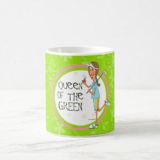 Drottning av grönten vit mugg