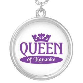 Drottning av Karaokehalsbandet Halsband Med Rund Hängsmycke