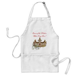 Drottning av kökförklädet förkläde