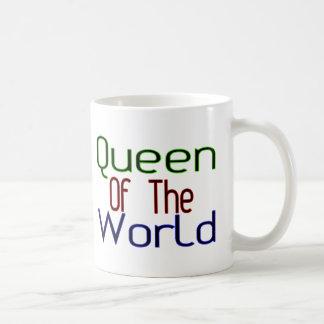 Drottning av världen kaffemugg