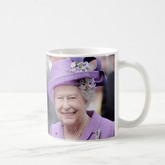 Drottning Elizabeth av England Kaffemugg