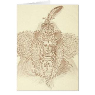 Drottning Elizabeth mig OBS Kort