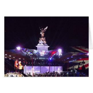 Drottning Jubileekonsert, London Hälsningskort