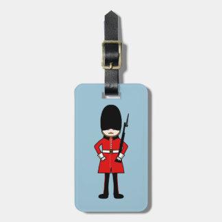 Drottning kungliga vakt bagagebricka