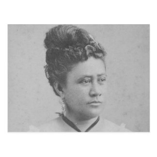 Drottning Lili'uokalani Vykort