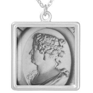 Drottning Marie-Therese av Österrike Silverpläterat Halsband