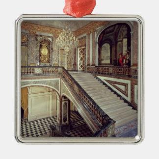 Drottning trappuppgång, c.1679 julgransprydnad metall