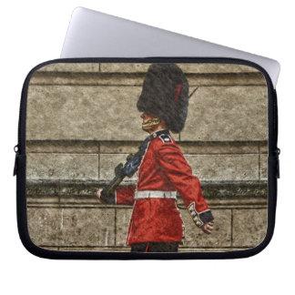 Drottning vakt, London, England symbol Laptop Fodral